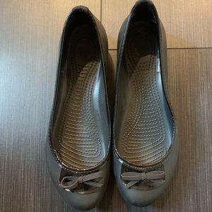 Croc ballet style shoe
